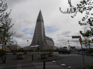 The chirch in Reykjavik